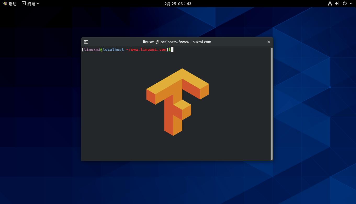 如何在CentOS 8上安装TensorFlow