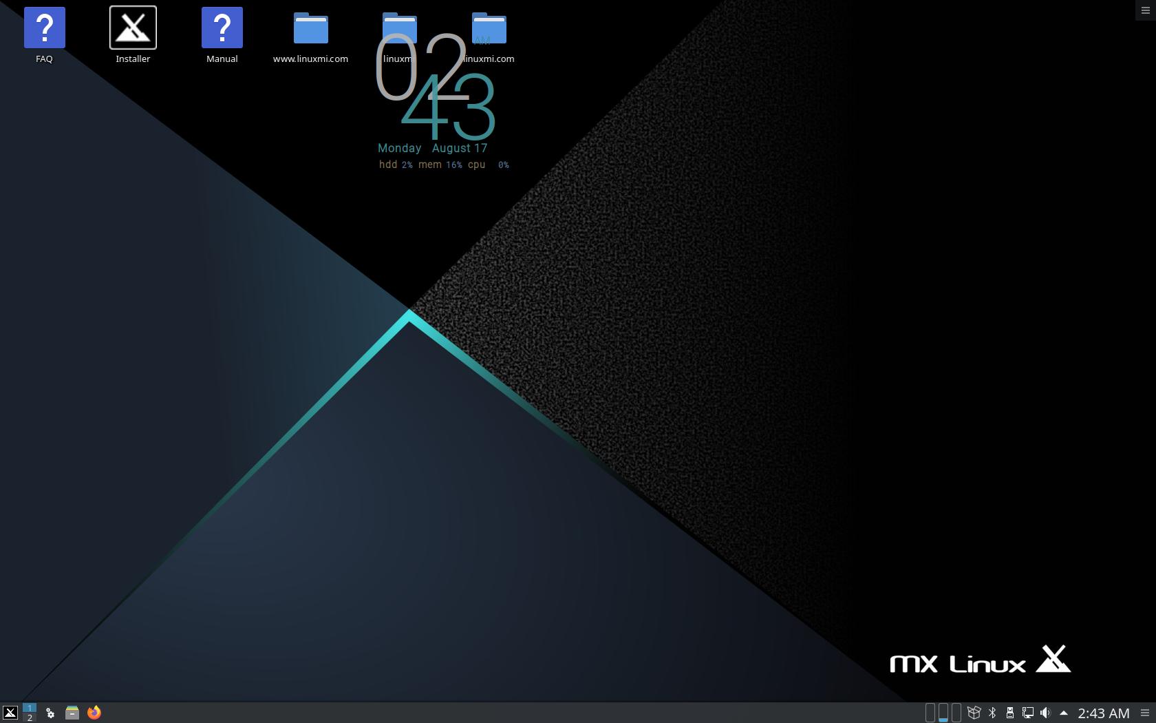 MX Linux 19.2 KDE 版正式发布