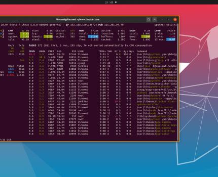 比top更好,Linux下的7个系统监视工具