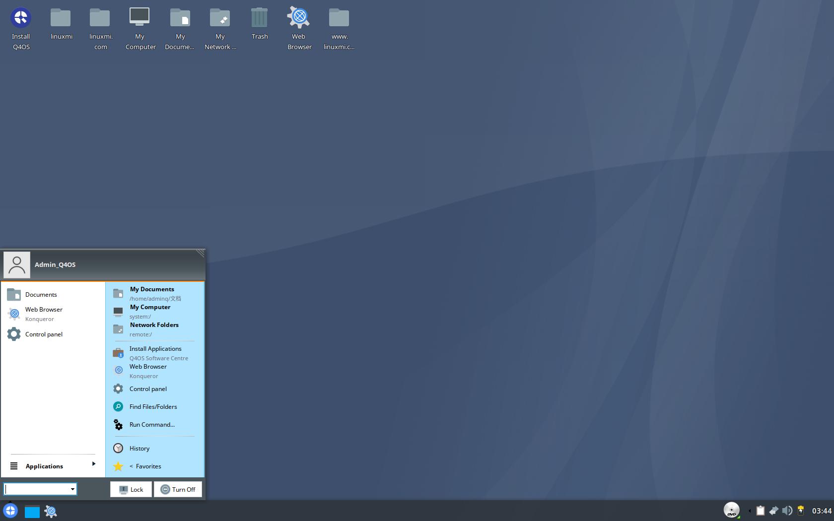 """Q4OS 3.12 Linux 发布,基于 Debian GNU/Linux 10.5 """"Buster"""""""
