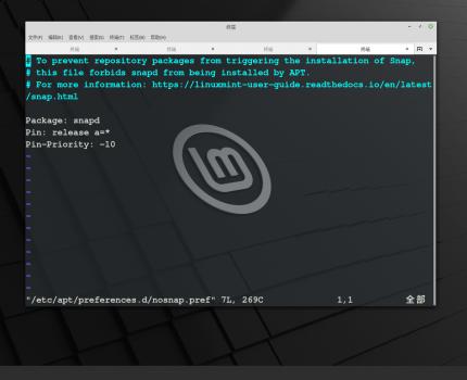 如何在Linux Mint 20上启用snap支持并安装snap包?