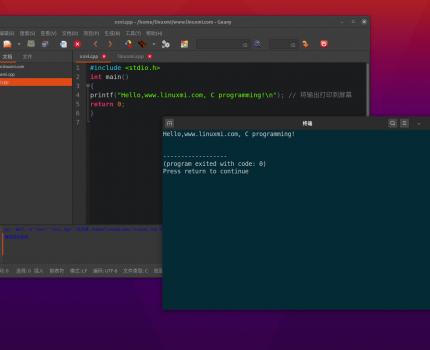 Ubuntu 20.04下使用Geany为C/C++配置轻快的图形开发环境