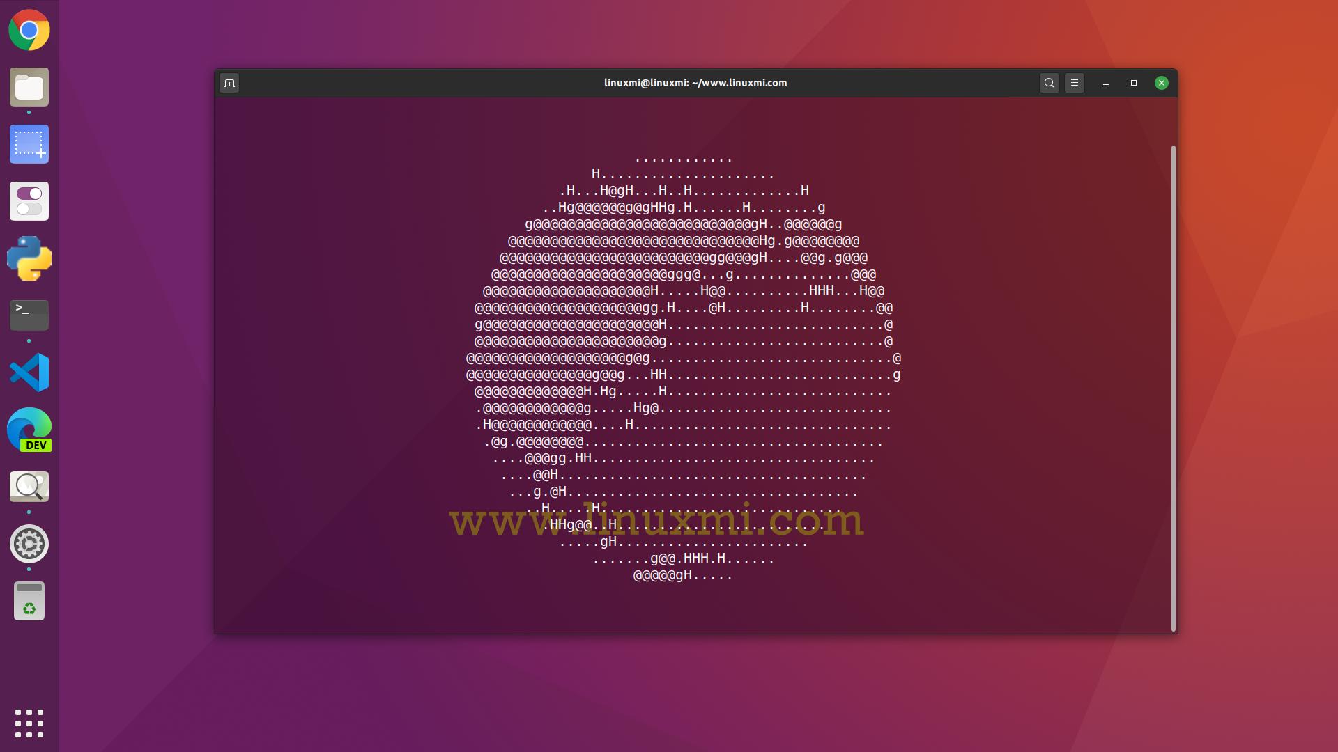 使用globe-cli实用程序在终端中运行ASCII地球仪
