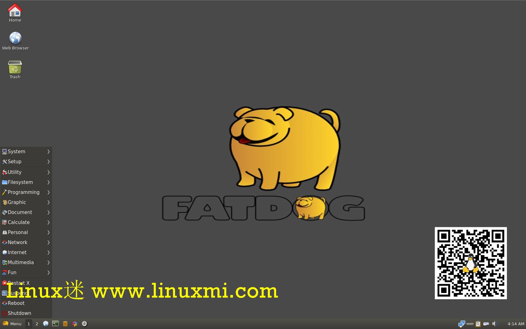 体验Fatdog64 Linux:小巧,快速,高效